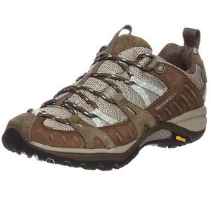 Merrell Siren Sport Brown Lace Hiking Trail Shoes